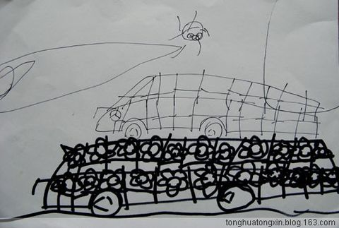童话风房子手绘