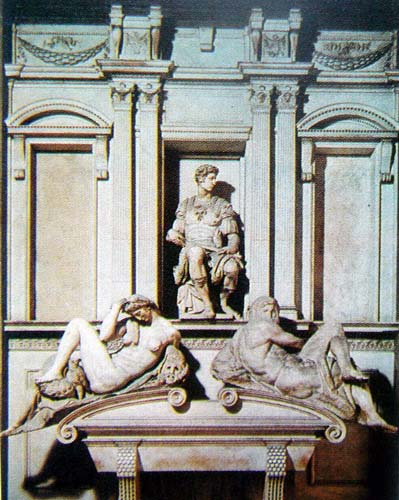 【引用】意大利文艺复兴时期三杰之一 米开朗基罗作品图片
