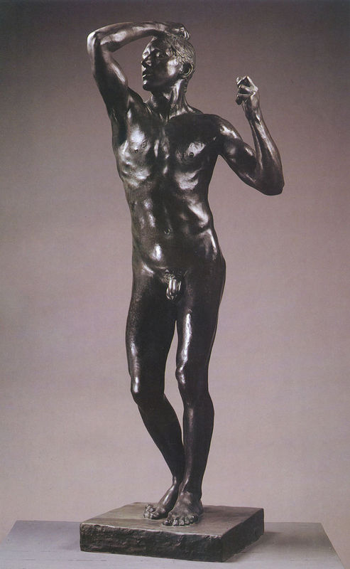 罗丹雕塑《青铜时代》赏析