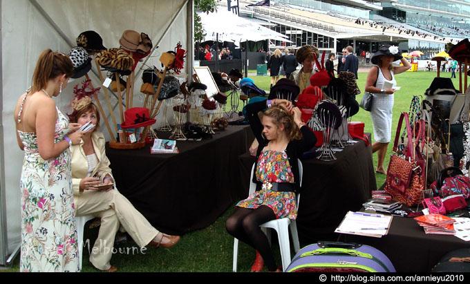 墨尔本赛马场的时尚邂逅Fashion@Flemington - 鱼儿 - 鱼儿的遨游生活