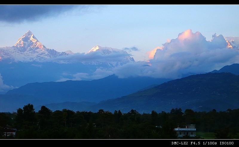 雪山 湖泊 寺庙——尼泊尔之旅(五) - 西樱 - 走马观景