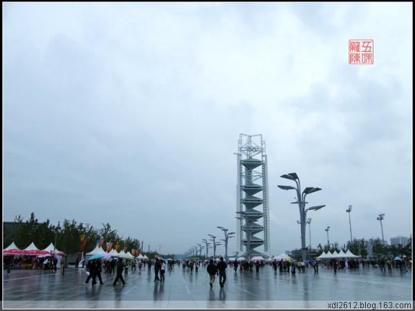 游北京之——雨中鸟巢(原摄) - 五味杂陈 - 我的人生驿站