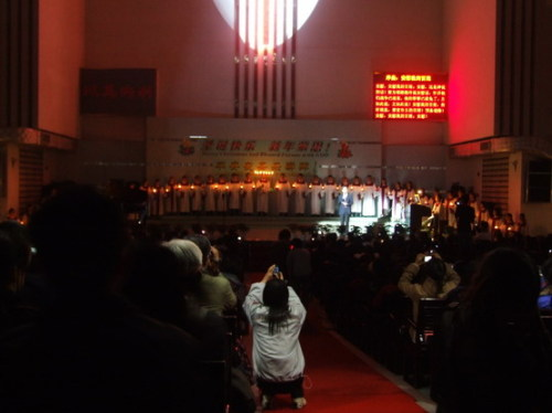 方舟教堂的平安夜 - liuyj999 - 刘元举的博客