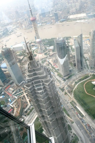 感受上海高度-----上海环球金融中心 - 大行家 - 大行家的博客