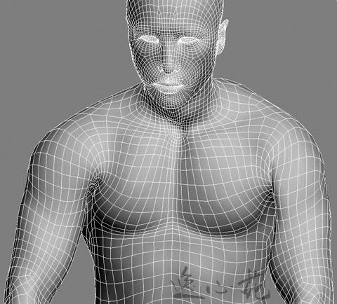 继续研究肌肉男蒙皮 - 易锜 - 心语静听