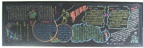 黑板报版面的设计 - 梦溪画郎 - 梦溪画郎