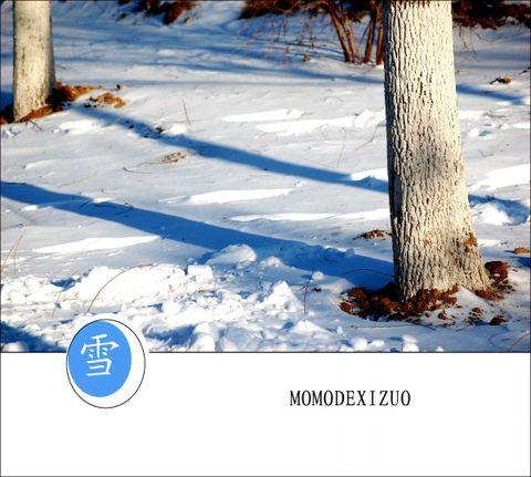 [原创图文] 雪——(二) - MOMO - MOMO 的博客