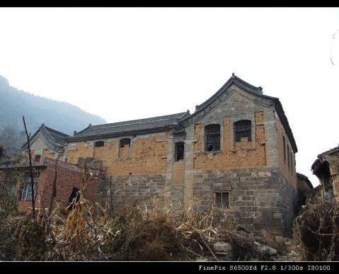 林州古宅系列之——前峪转角楼 - 太行山写生基地 - 太行山写生基地,太行大峡谷桃花谷写生摄影