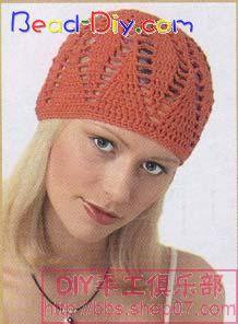 简单漂亮时尚围脖和帽子(有图解) - 开心就好 - fanghuatx的博客