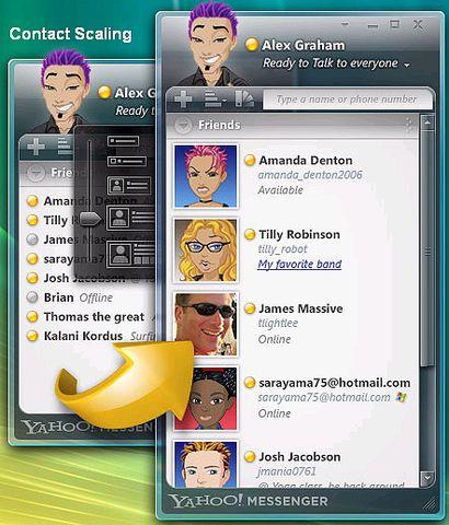 Yahoo Messenger for Vista - 令冲冲 - 飞越梦想