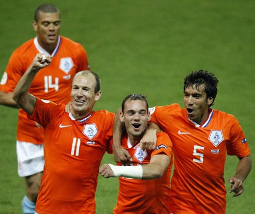 图文-[欧洲杯]法国1-4荷兰皇马双侠扬威赛场