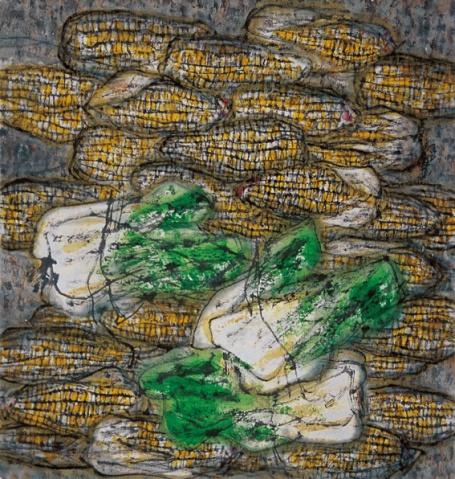 画里诗情 之 大地恩赐 - 苏文 - 中国当代美术家——路中汉