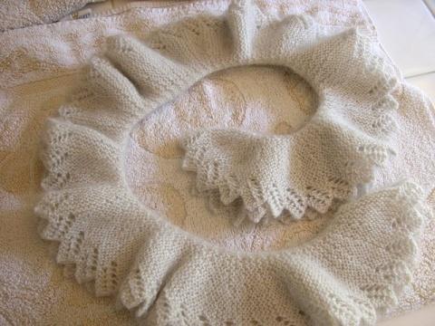 文,请进来--好漂亮的花边围巾 - Daphne - 爱编织Crochet Knitting