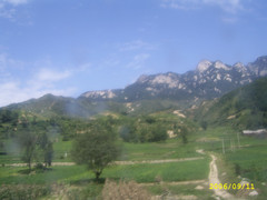 巍巍秦岭山,高耸入云端 - guohuachan - 青山绿水的博客