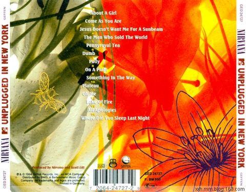 Nirvana - Unplugged in New York 1994 - ﹑Neverever. - 傻逼乐园