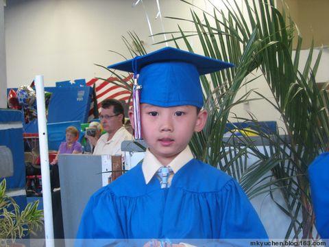 Kyle学前班毕业 - 雨辰 - 雨辰的乐园