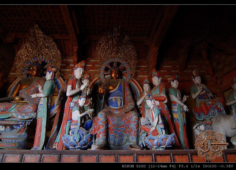 中国现存最大唐代木构建筑五台山佛光寺 - 我行我素 - 我行我素的博客