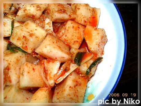 韩式小菜 黄瓜泡菜+韭菜泡菜 - 怡云轻风 -  怡云轻风的博客