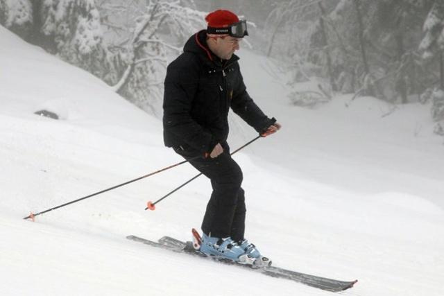 """""""梅普组合""""再度滑雪过年""""秀和谐"""" - 红场上那点儿事儿 - 关健斌的博客"""