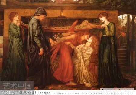 但丁·加布里埃尔·罗塞蒂油画欣赏 - 石墨閣藝術長廊 - 石墨閣藝術長廊--雨濃的博客