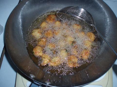 引用 豆渣妙用--素炸丸子 - 蓝馨月 - 蓝馨月的博客