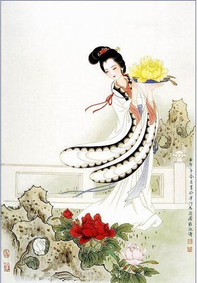 最美的十首情诗词(只有中国人才懂得神韵)内附手绘插图和古典音 - ☆容♀蓉☆ - ☆容♀蓉☆的博客