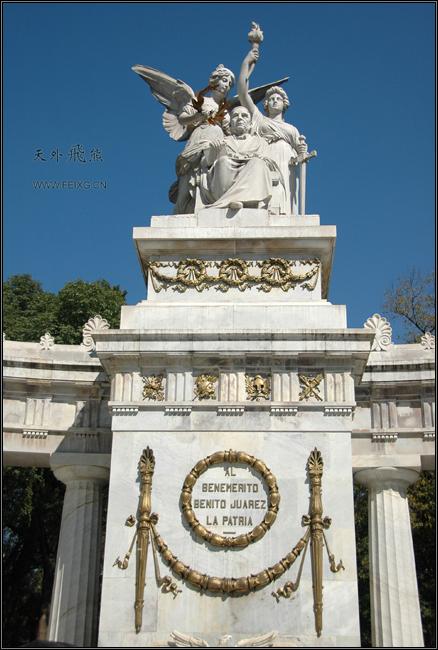 081128 墨西哥掠影(19)自由市场和女神像 - 天外飞熊 - 天外飞熊