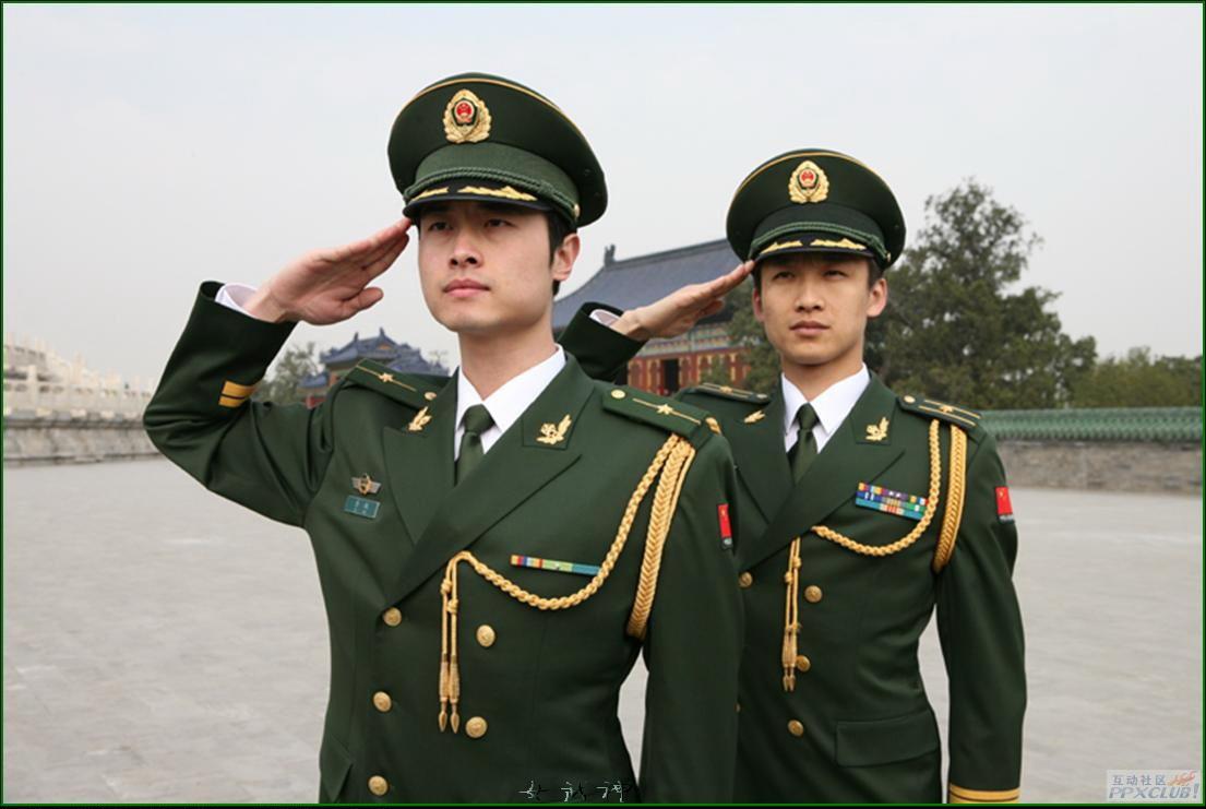 武警部队07式新警服全新亮相图片