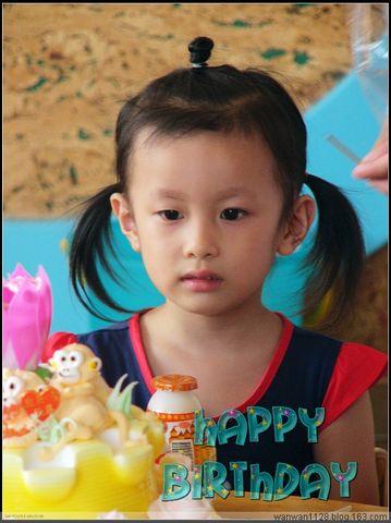 王可欣,生日快乐! - 张老师 - 绍兴市越秀双语幼儿园【小B班】BLOG