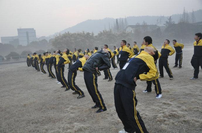 十六届老鹰训练营第三天课程现场
