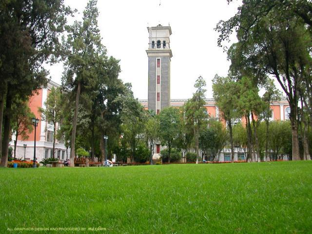 云南大学如花园般美丽的校园 - tenglin03 - 滕林老师的博客