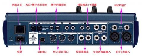 百灵达 BCA2000全能数字、模拟录音声卡调音台一体机(附:BCA2000安装、使用、调试、设置)  - 好歹不坏 - 数字音频