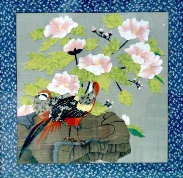 【引用】中国传统民间艺术--布贴画 - 戈壁石子 - 戈壁石子博客