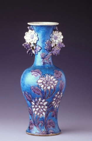 中国瓷器  - 看烟火的鱼 - 看眼火的鱼