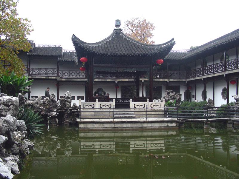 【原创】深秋润、扬游(六):扬州何园 - 语溪子 - 语溪子的博客