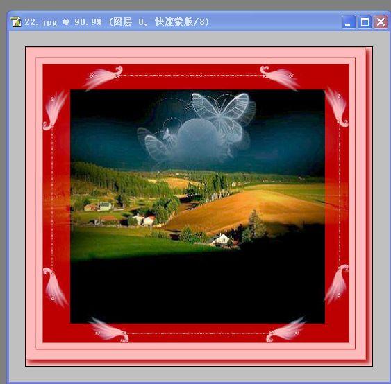 2、滤镜—艺术效果—水彩(设置数值如图)—好-教你如何用PS滤镜