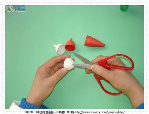 纸盘手工制作飞船