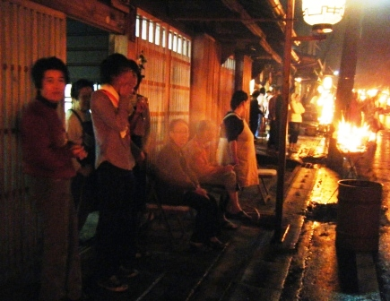 鞍馬火祭(之三)---江户古村 - 老虎闻玫瑰 - 老虎闻玫瑰的博客