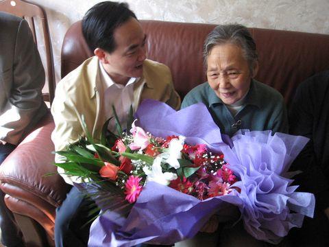 重阳节上海市政府领导一行上门来看望我82岁的老母亲 - zys2688 - zys2688