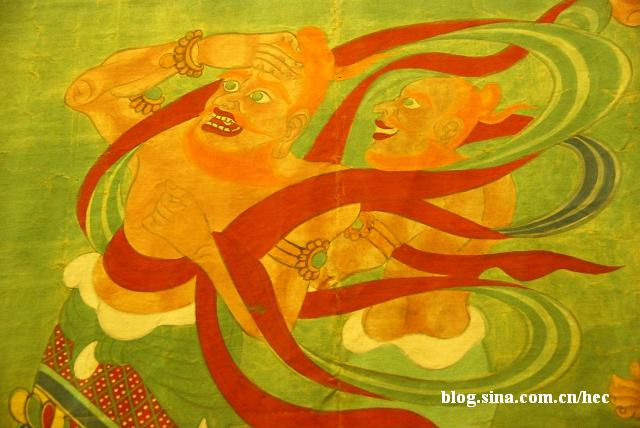 张大千 弥足珍贵的敦煌壁画 - 忆雨紫烟 - 忆雨紫烟的书画评论空间