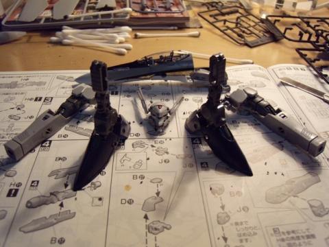 VF-25S 工作日志 - 速水鉄 - 速水鉄の工作室