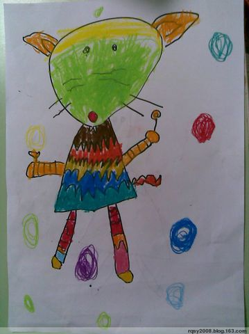 可爱的老鼠(中班) - rqsy2008 - 融侨元洪锦江幼儿园的博客
