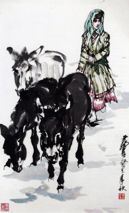 黄胄的画 - 静涛 - JINGTAOS   BLOG