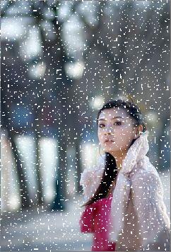 下雪效果的静态与动态 - 与你同行 - 与你同行欢迎你