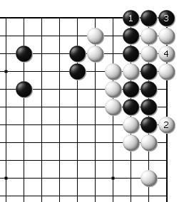 三子棋必胜方法图-7、后手14目(注意与上一个形状不同)   8、 后手15目强   9、逆收20图片