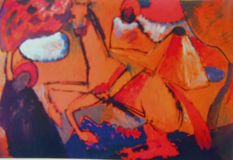 引用 向你介绍 抽象派画家康定斯基的画 良黛 良黛 高清图片