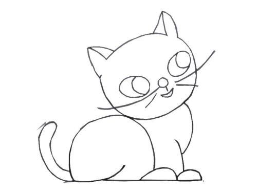 儿童简笔画绘画素材整理(动物篇)-给喜欢画画的宝宝