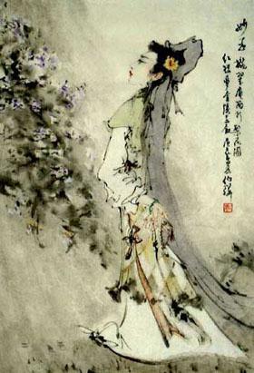 (原创)一剪梅  禅房 - 凌寒 - 梅影清溪