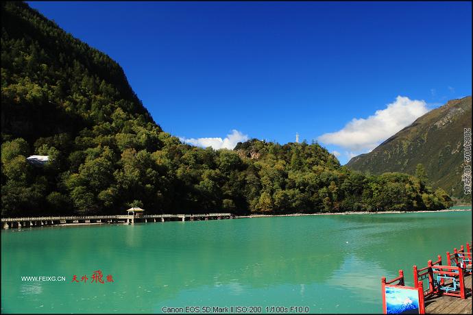 091001 梦回拉萨(6)湖光山色的巴松措 - 天外飞熊 - 天外飞熊