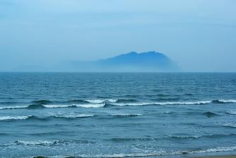 2007年12月23日,  海边